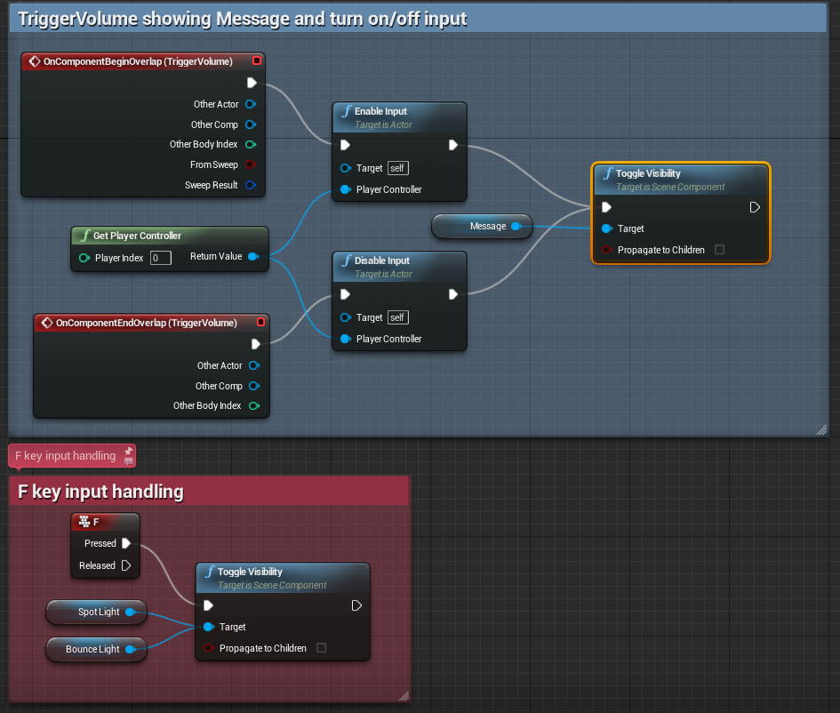 How to start with unreal engine 4 my first learning session bp lighttoggle malvernweather Image collections