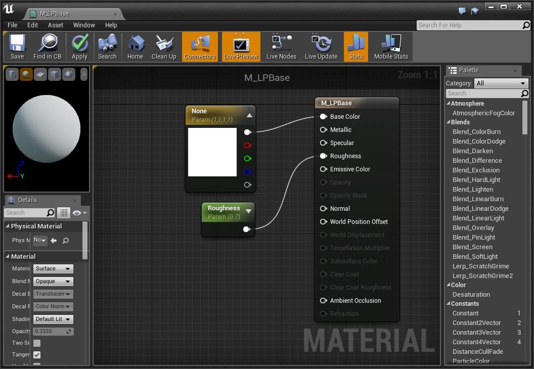 material-editor