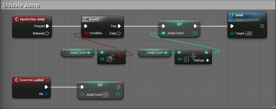 Part 2 player controller 2d platformer with unreal engine 4 ue4 blueprint doublejump malvernweather Images