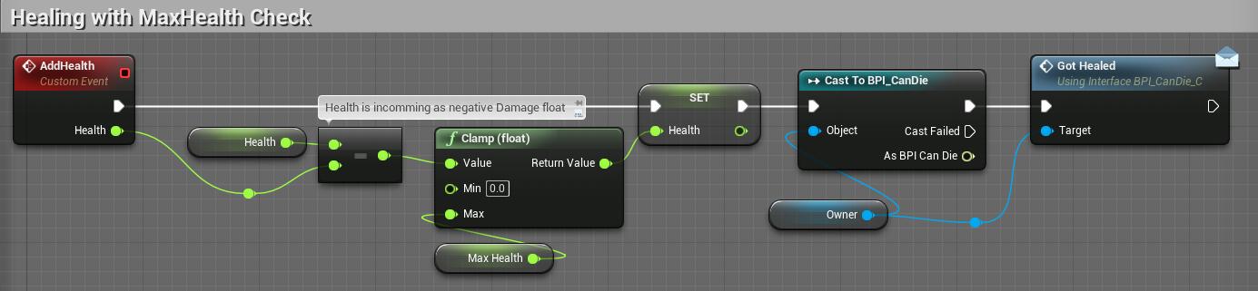 2D Platformer with UE4 Part 3: Damage Blueprint Component